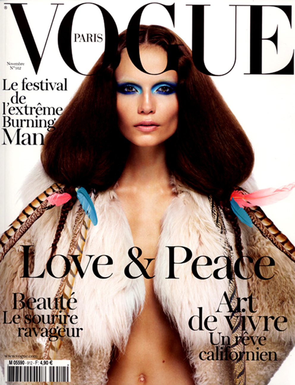 Vogue Paris. Cover Of The November 2010 Issue… New